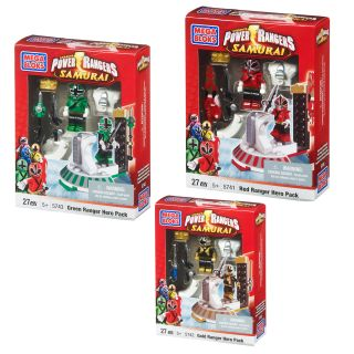 Mega Brands Power Rangers Samurai Hero Packs Assortment