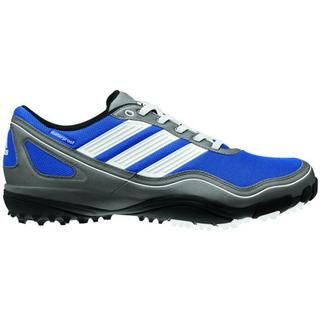 Adidas Mens Puremotion Grey and Blue Golf Shoes