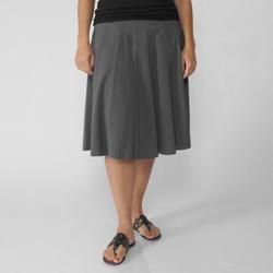 Adi Designs Womens Flowing Panel Skirt