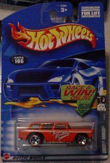 Hot Wheels Chevy Nomad 4/4 Redline 202 #106 Music