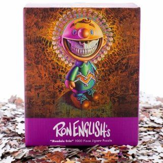 Ron English Mandala Grin Jigsaw Puzzle Toys & Games