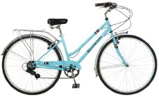 Schwinn Womens Wayfarer 700C Bicycle, Light Blue, 16 Inch