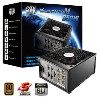 Cooler Master Silent Pro M850   Achat / Vente ALIMENTATION INTERNE
