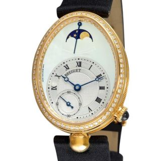 Breguet Womens Reine de Naples Yellow Gold Diamond Watch