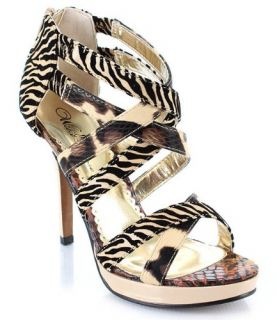 shoes display on website wild rose kakoa 198 strappy open toe sandal