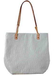 Metallic Jet Set NS Chain Tote Shoulder Bag Handbag Purse Shoes