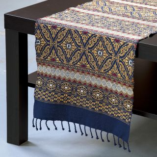 Cotton Medianoche Table Runner (Guatemala)