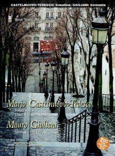 One Guitar Castelnuovo Tedesco Sonatina for Flute & Guitar Op. 205