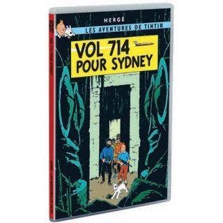 Tintin  vol 714 pour sydney en DVD INTERACTIF pas cher