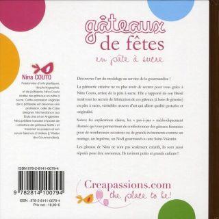 GATEAUX DE FETE EN PATE A SUCRE   Achat / Vente livre Nina Couto pas