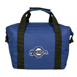 MLB Milwaukee Brewers Soft Sided 12 Pack Cooler Bag