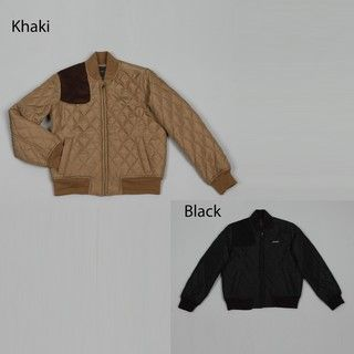 Sean John Big Boys Black Diamond quilt Jacket