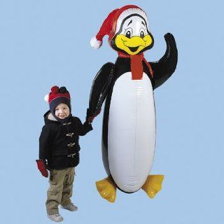 62 Jumbo HOLIDAY PENGUIN Inflatable Toy/CHRISTMAS