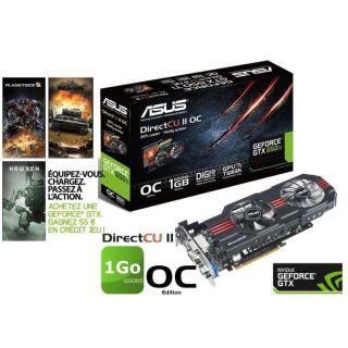 Asus GTX650 Ti 1Go GDDR5 DirectCU II OC   Achat / Vente CARTE