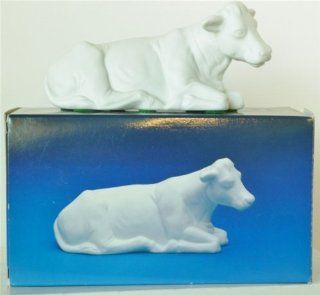 Avon Nativity Collectibles   The Cow Porcelain Figurine
