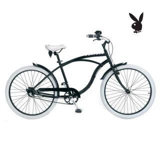 Modèle Cruiser. Coloris noir. Vélo de ville homme 19. Cadre en