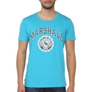 FRANKLIN MARSHALL T Shirt H Bleu Bleu   Achat / Vente T SHIRT FRANKLIN
