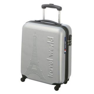 TRAVEL WORLD Valise trolley LOW COST PARIS Argent   Achat / Vente