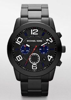 Michael Kors MK8291 Black Stainless Steel Chronograph Mens Watch
