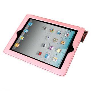 Mivizu Sense Apple iPad 2 Pink Leather Case