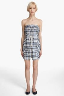 Juicy Couture Crinkle Plaid Dress for women