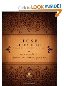 HCSB Study Bible, Jacketed Hardcover Holman Bible Editorial Staff