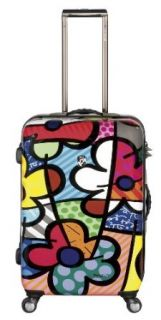 Heys USA Luggage Britto Flowers 26 Inch Hardside Spinner