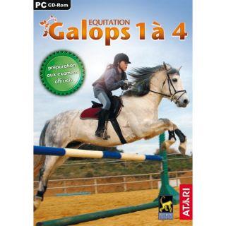 EQUITATION  GALOPS 1 à 4 / JEU PC/MAC CD ROM   Achat / Vente PC