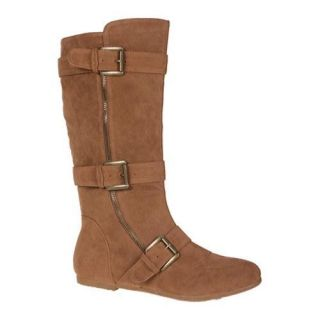 Womens Beston Parker 01 Camel Suede