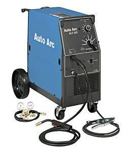 ) Miller/AutoArc XLT222 MIG Welder   30 210 Amp, 230V