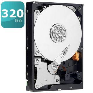 Disque dur interne   Capacité 320 Go   7200 trs/min   Interface SATA