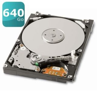 Toshiba 640Go 8Mo 2.5   Achat / Vente DISQUE DUR INTERNE Toshiba