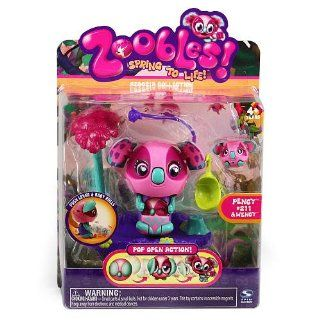 com Zoobles Mama and Babies Koala   Pency & Wency #211 Toys & Games