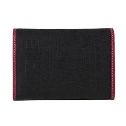 Gucci Small Black/ Pink PVC Tri fold Wallet