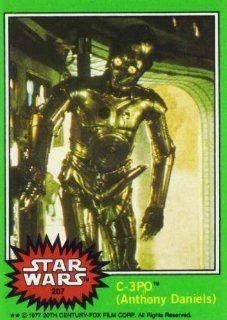 1977 Star Wars C 3PO (Anthony Daniels) 207 Error Trading