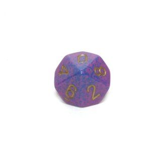Speckled 16mm Polyhedral Lathyrus d10 Dice: Toys & Games