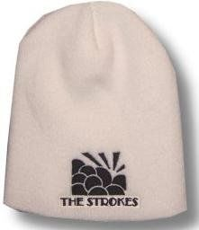 THE STROKES   Logo   Beanie Hat: Clothing