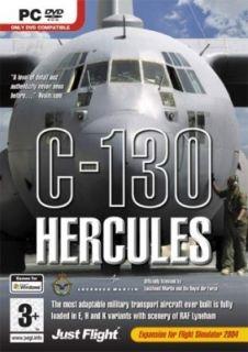 130 Hercules Expansion for Flight Simulator DVD