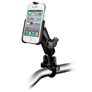 Support vélo moto renforcé pour iPhone 4 et 4S   Achat / Vente KIT