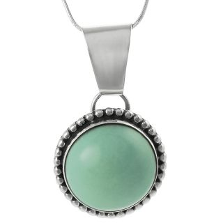 Tressa Sterling Silver Genuine Turquoise Necklace