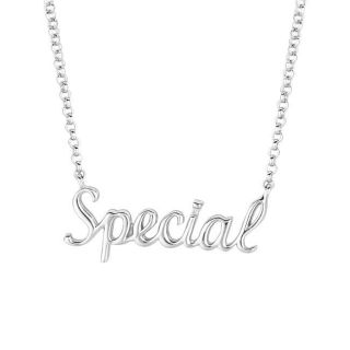 Sterling Silver Expression Special Necklace