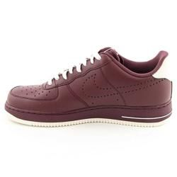 Nike Mens Air Force Burgundy Brick Red/Sail Basketball Shoes