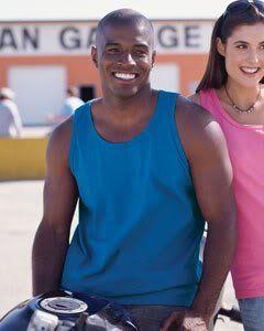 Anvil 215   Mens Adult 100% Heavyweight Cotton Tank Top