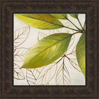 Patricia Pinto Fresh Leaves I Framed Print Art