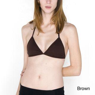 American Apparel Baby Rib Bikini Bra