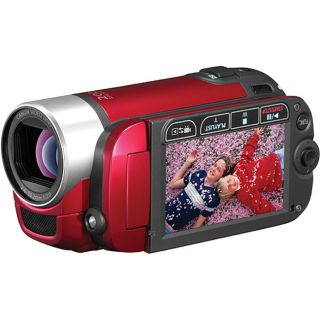 Canon FS300 Red Flash Memory Digital Video Camcorder