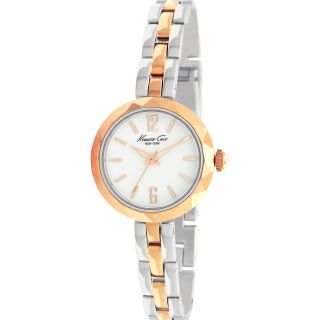 Kenneth Cole New York Womens Two tone Rose and Stainless Watch