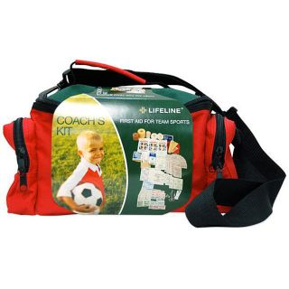 Lifeline First Aid Team Sports 133 pc Coaches First Aid Kit (Pack of 4