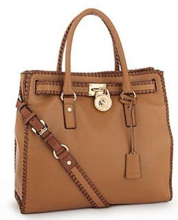 Michael Michael Kors Hamilton Whipped Leather Tote Shoes