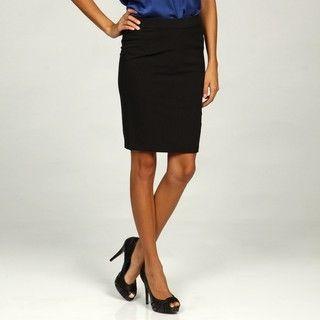 Jessica Simpson Juniors Black Pleated Skirt